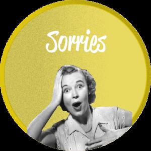 Sorries